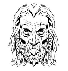 Viking image vector