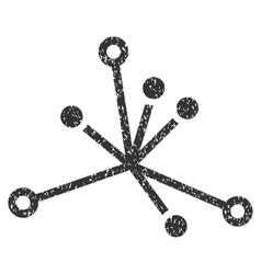 World Boom Grainy Texture Icon vector