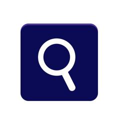 search app button vector image