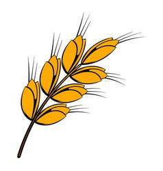 ear of barley icon icon cartoon vector image vector image