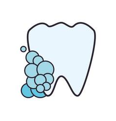 medical dental care vector image vector image