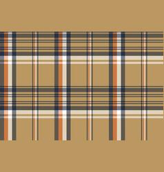 beige plaid tartan diagonal seamless fabric vector image