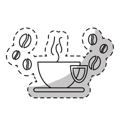 cup of coffee icon image vector image