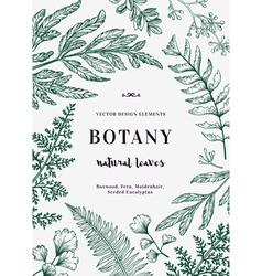 Floral background Vintage invitation vector
