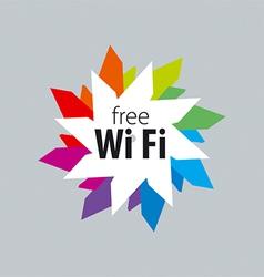Logo Wi fi 3 vector