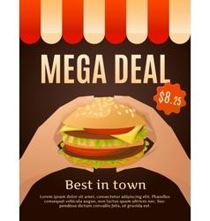 Mega Deal Infographics vector