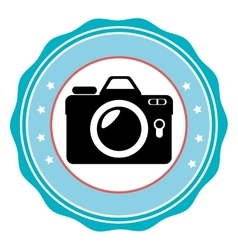 Photography camera Line icon vector