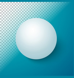 Photorealistic ball set template vector