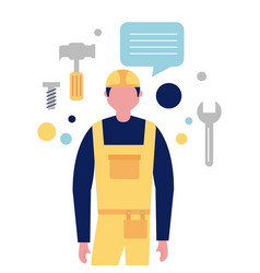 Professionals workwear jobs vector