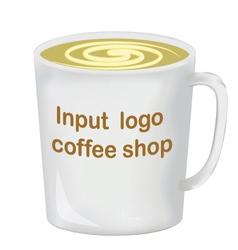Realistically drawn mug for you pr vector