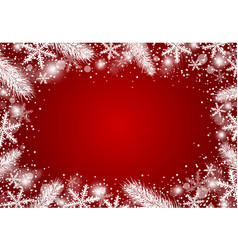 beautiful christmas background concept design vector image vector image