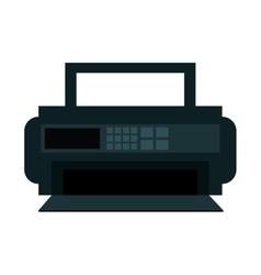 radio appliance isolated icon vector image