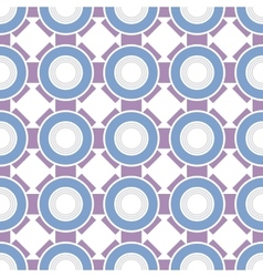 Seamless color abstract geometric pattern vector image