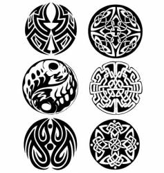 abstract Celtic design works vector image vector image