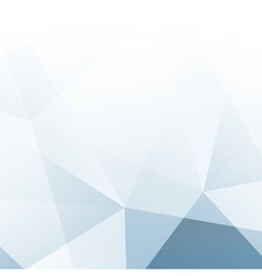 Abstract Blue Light Geometric Background vector