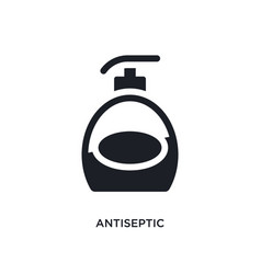 Antiseptic isolated icon simple element from vector