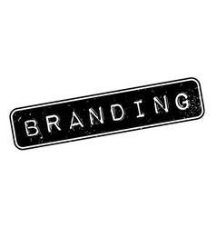 Branding rubber stamp vector