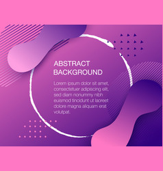 color background design with copyspace vector image