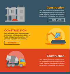 Construction and building company web vector