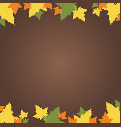 Frame design with thanksgiving theme vector