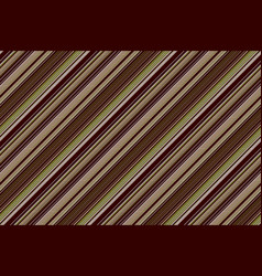 green brown venge striped seamless background vector image