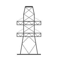 Isolated tower design vector