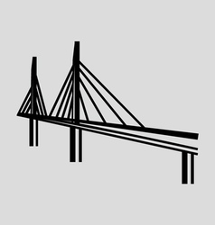 Millau Bridge France vector