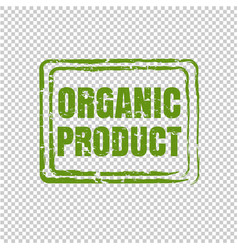 organic product isolated transparent background vector image