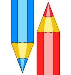Pencils icon vector