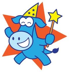 Wizard Horse vector image