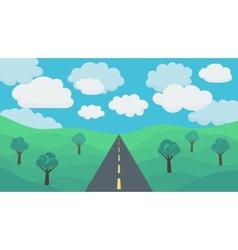 Landscape Background vector image