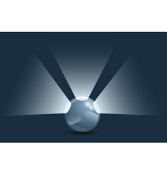 ball light vector image