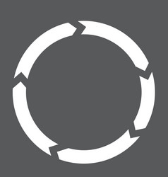 circulation interface toolbar icon vector image