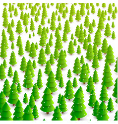 Forest of trees background vector