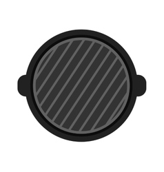 Grill isolated vector image