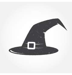 Halloween hat outline icon vector image