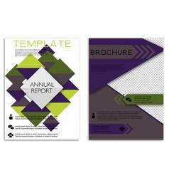 Infographics in brochures for minimalist design vector