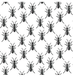 insects bug seamless pattern bugs vector image