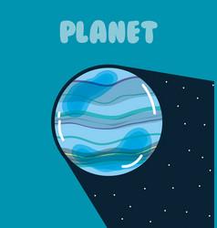 Mercury milkyway planet vector