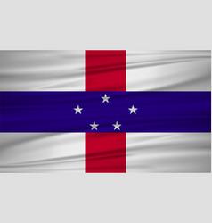 Netherlands antilles flag flag of netherlands vector