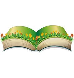 Popup book vector image