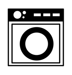 washing machine appliance vector image