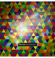 bg triangles vector image