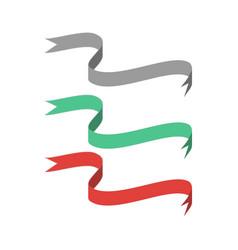 ribbon color award vector image vector image