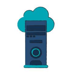 Cloud server vector