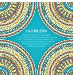 Ethnic patterns for background design vector