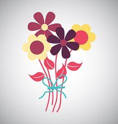 Flowers design vector