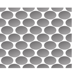 Grayscale monochrome pattern with ellipse oval vector