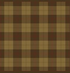 Khaki red tartan plaid scottish pattern vector