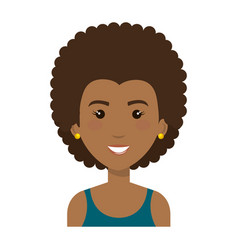 Woman with sport wear vector